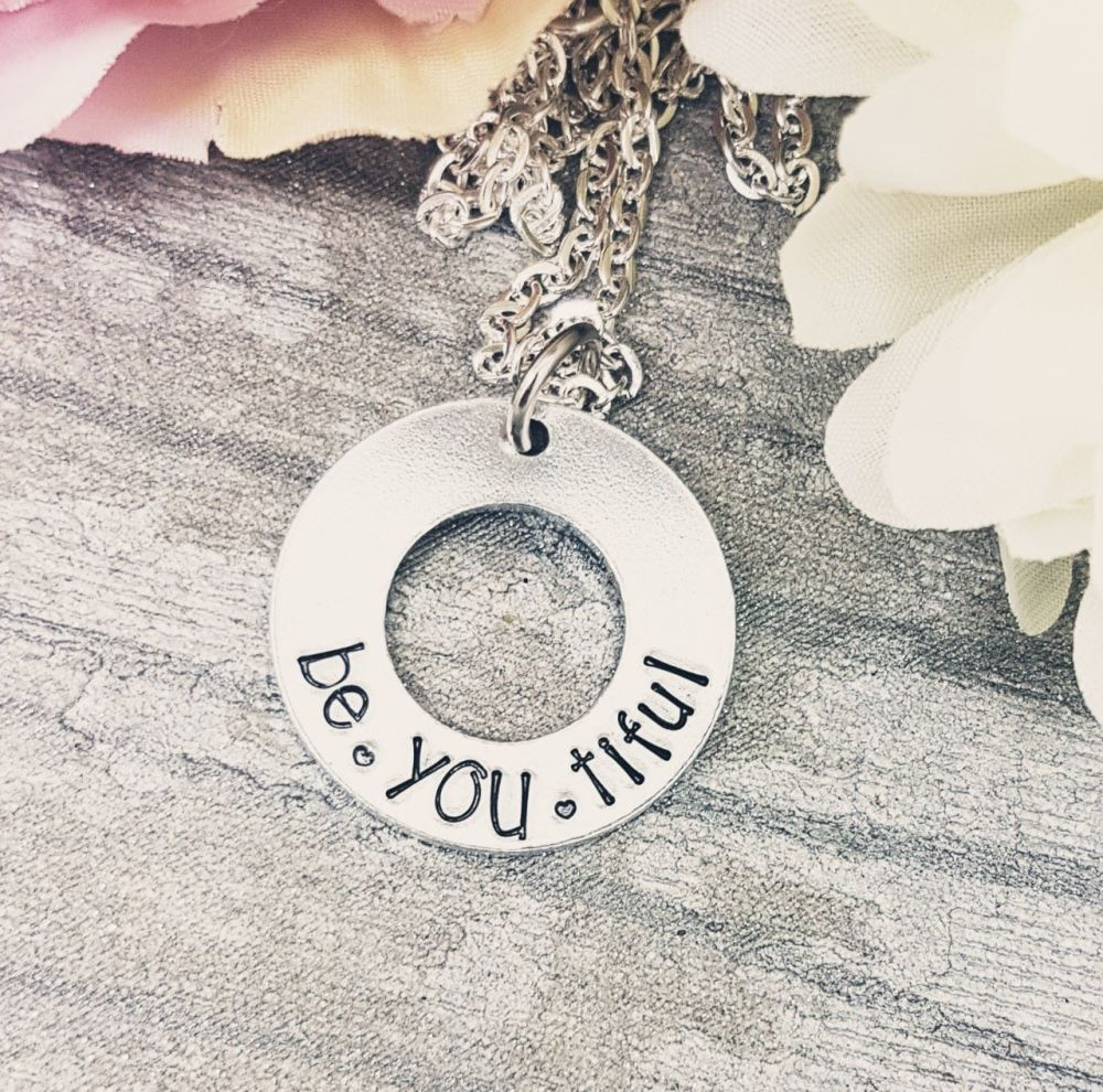 be.YOU.tiful - Washer Necklace