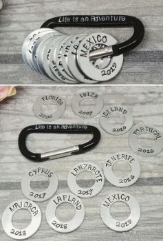 Life is an Adventure! Carabiner Travel - Collecters Item