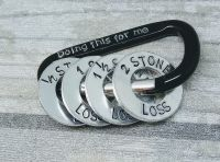 Doing this for me - Carabiner - Weight Loss with 4x washers