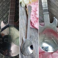 Personalised Guitar Spoon