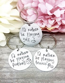 I'd rather be... Keyring