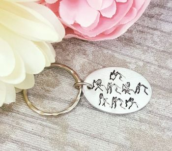 BSL - I love you Keyring