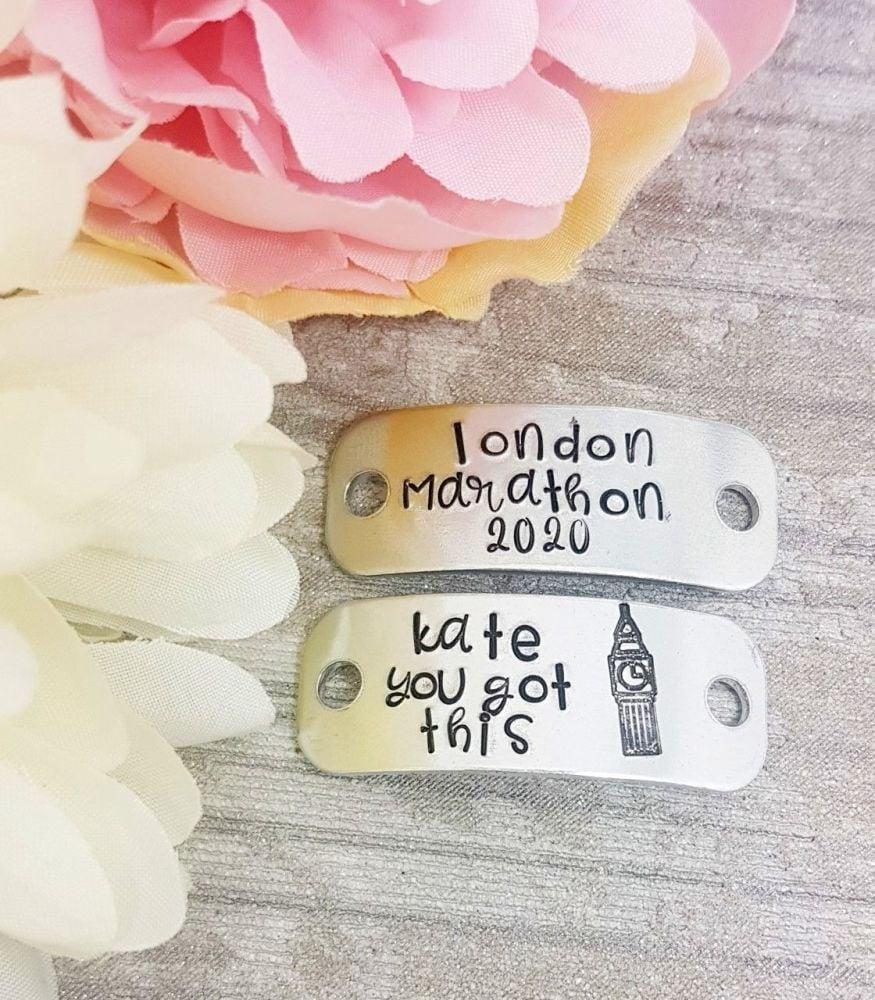 ** London Marathon 2019 - You Got This - Trainer Tags