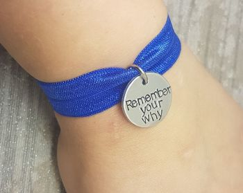 Remember Your Why - Stretch Bracelet