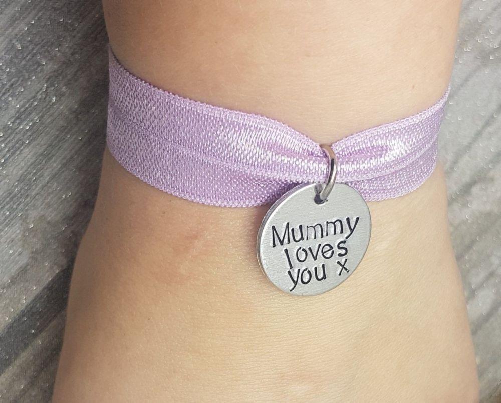 Mummy Loves You - Stretch Bracelet