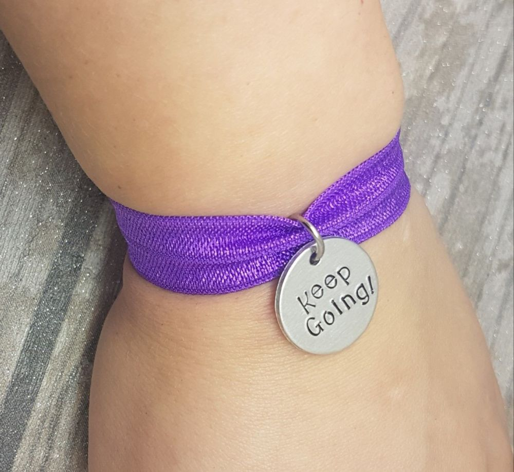 Keep Going! - Stretch Bracelet