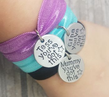 You've Got This - Personalised Name Stretch Bracelet
