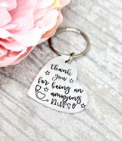 Thank you for being an amazing nurse - Heart Keyring