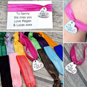 We Miss You - Rainbow - Stretch Bracelet