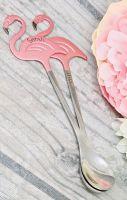 Personalised Flamingo Spoon - Top or Side Personalisation