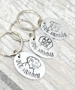 Dog Mummy Keyring - 14 breeds to choose from!