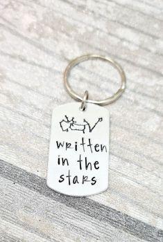 Written in the stars Keyring