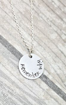 Remember Why Necklace