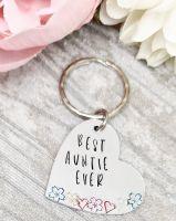 Best Auntie Ever Keyring