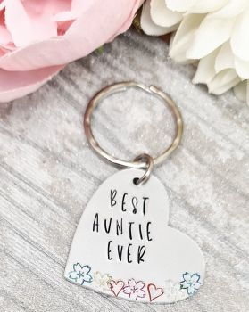 Best Auntie Ever Keyring ** Sunday Special 05/07 **