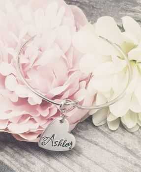 Name Knot Bangle