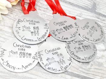 Family Christmas Decoration - Christmas 2020