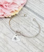 BSL Knot Bangle initial