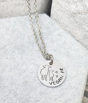 Vegan AF Necklace