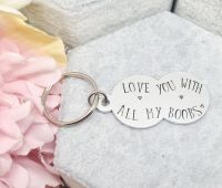Love you with all my boobs Keyring