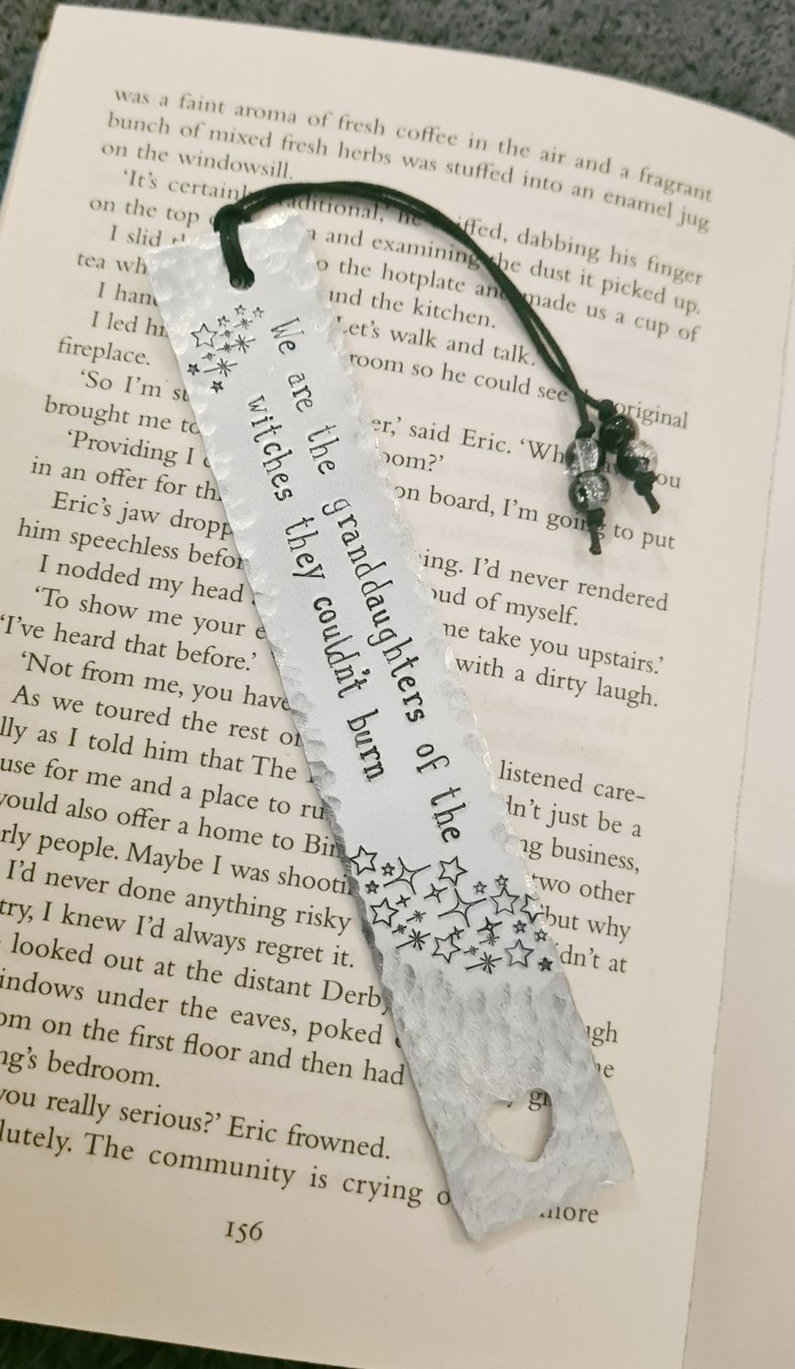 Bookmark - We are the granddaughters of the witches they couldn't burn