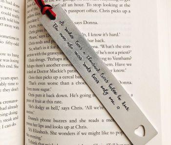 Bookmark - A reader lives a thousand lives...