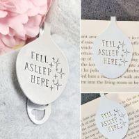 Spoon Style Bookmark - Fell Asleep Here