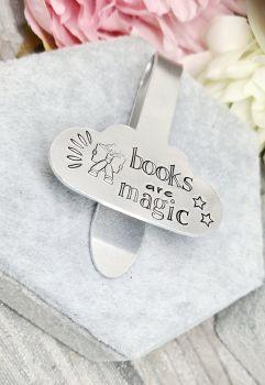 CloudStyle Bookmark - Books Are Magic