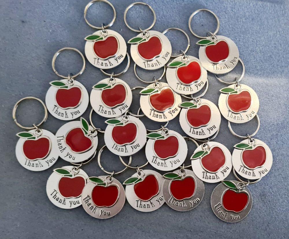 Thank You - Apple Keyrings