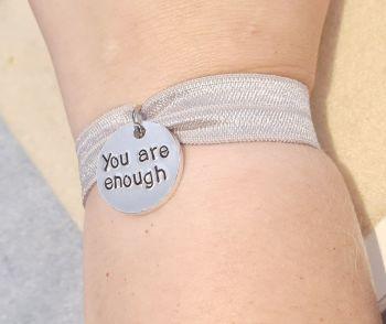 You Are Enough - Stretch Bracelet