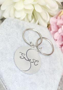 Split Love Link Personalised Keyrings