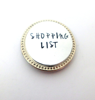 'Shopping List' Magnet