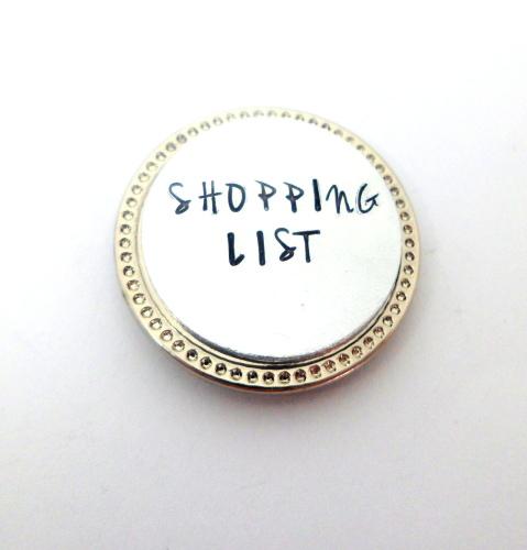 'Shopping List' Magnet