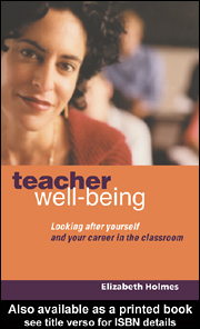 teacher wellbeing cover
