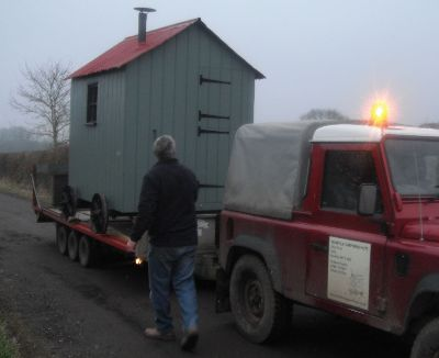 Silverwood Hut delivery