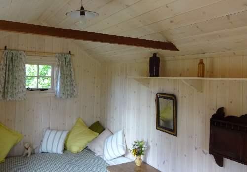 Sandringham hut - interior