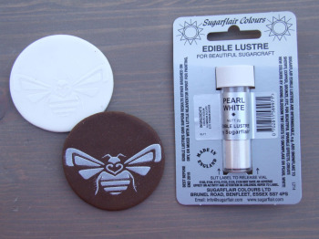 Edible Lustre Dust - PEARL WHITE