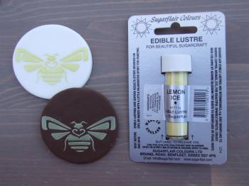 Edible Lustre Dust - LEMON ICE