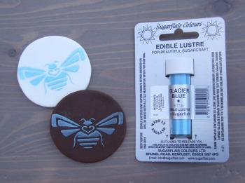 Edible Lustre Dust - GLACIER BLUE