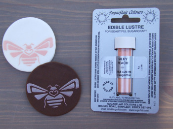 Edible Lustre Dust - SILKY PEACH