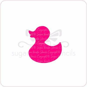 Baby Duck Cupcake Stencil
