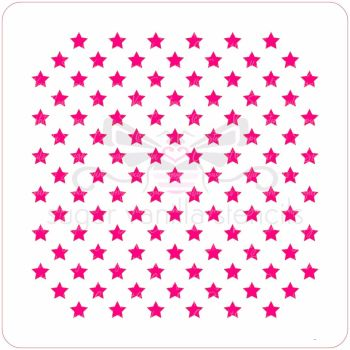 Little Stars Cupcake Stencil