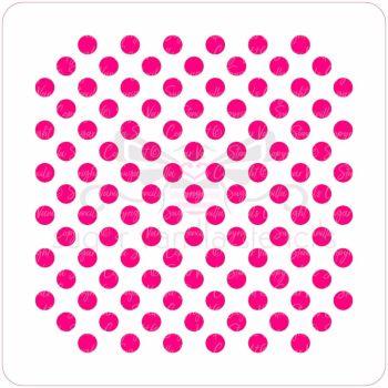 Little Dots Cupcake Stencil