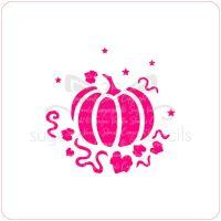 Pumpkin Cupcake Stencil