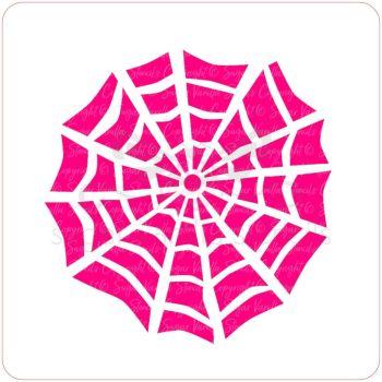 Spiderweb Cupcake Stencil