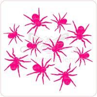 Spiders Cupcake Stencil