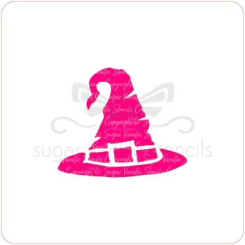 Witch's Hat Cupcake Stencil
