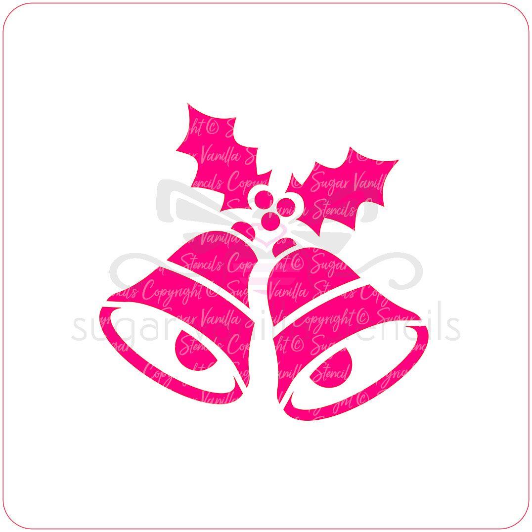 Christmas Bells Cupcake Stencil
