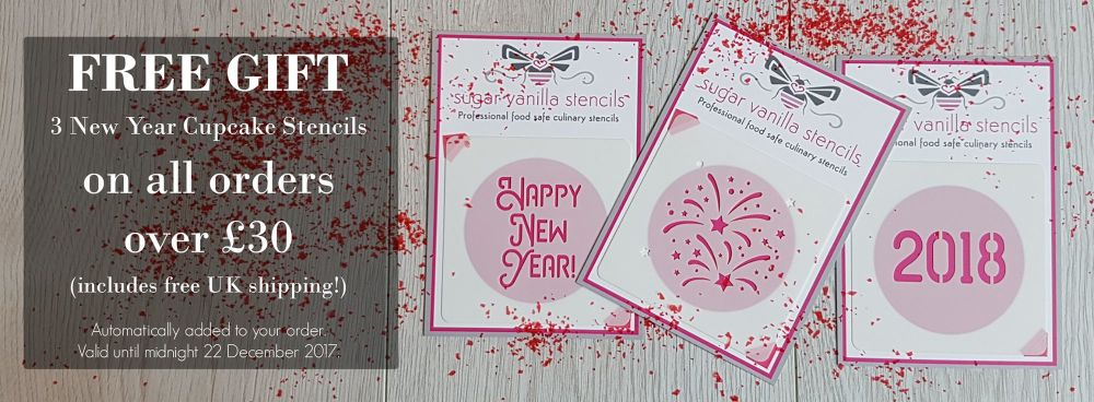 Free gift on all orders over £30