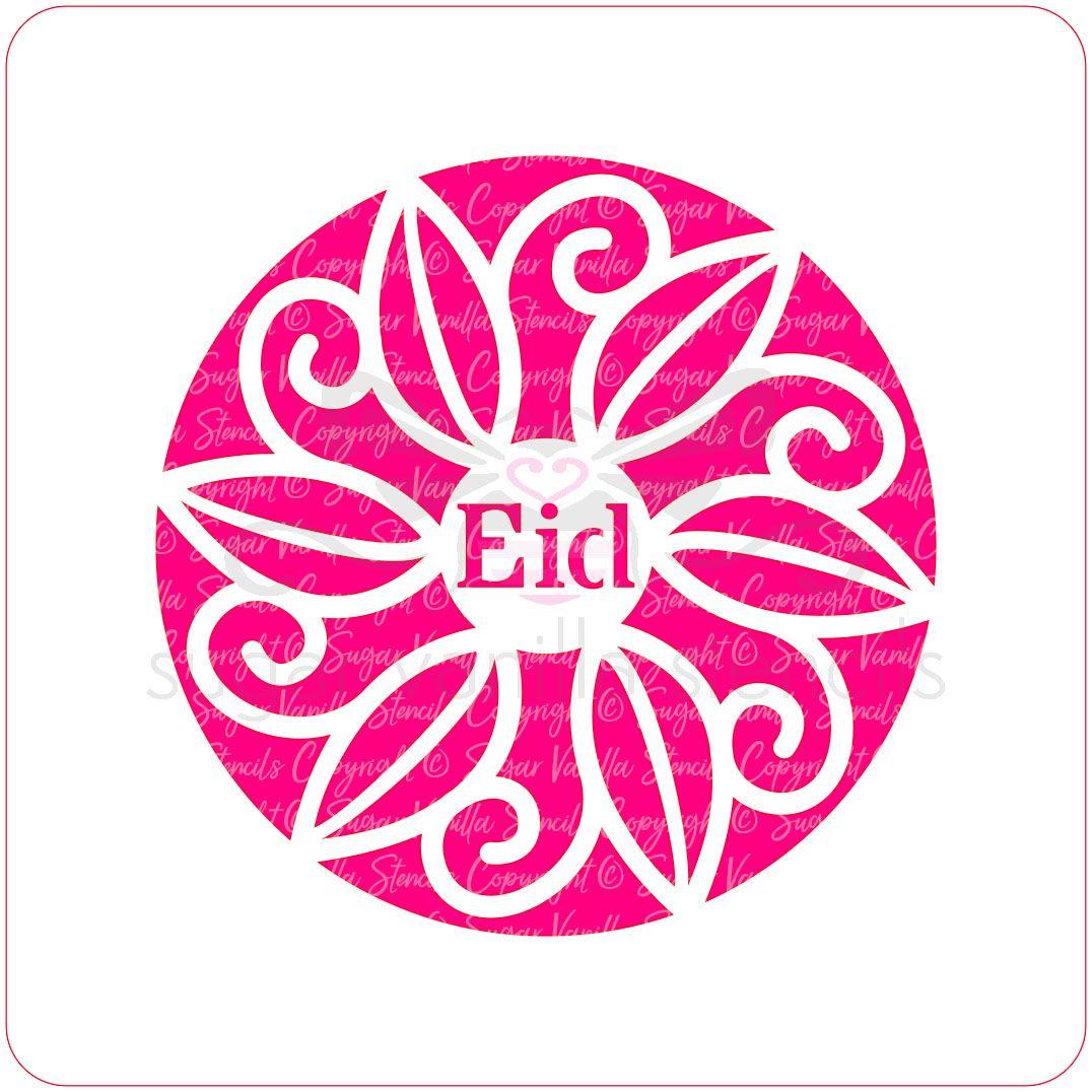 Decorative Eid Cupcake Stencil